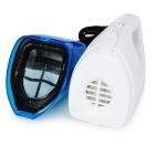 Car Wet & Dry Handheld Dust Collector / Vacuum Cleaner - White + Blue