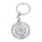 Buy Double Side Round Stainless Keychain Ring Letter O