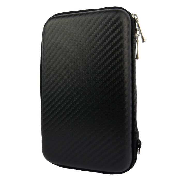 "Protective Shockproof Storage Bag for 2.5"" HDD + More - Black"