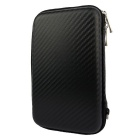 "Protective Shockproof PU + EVA Storage Bag for 2.5"" HDD / Mobile Power / USB Devices - Black"