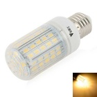 WaLangTing E27 7W LED Corn Lamp varm hvit 3200K 500lm 72-SMD 5730 (110 ~ 240V)