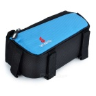 YANHO Bicycle Nylon Top Tube Bag for GPS / Cellphone - Blue (1.5L)