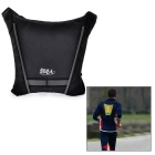 Bikeman Safety Warning R/C Signal Lamp Vest for Cycling - Gray + Black