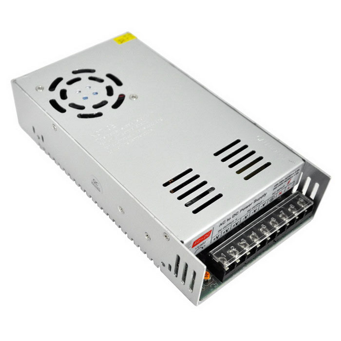 AC 110V / 220V to DC 24V 21A 500W Switching Power Supply - SilverSwitching Power Supply<br>Power500WModelZL-500W-24Form  ColorSilver Grey + Black + Multi-ColoredMaterialMetal AluminumQuantity1 DX.PCM.Model.AttributeModel.UnitRated Current21 DX.PCM.Model.AttributeModel.UnitRate Voltage24VWorking Temperature-40~+65 DX.PCM.Model.AttributeModel.UnitWorking Humidity20% ~ 90% RH non condensingCertificationCEOther Features1. Input voltage range(V): 110 / 220V±15%<br>2. Frequency(Hz): 50/60Hz<br>3. Voltage Regulation: ±10%Packing List1 x Switching Power Supply<br>
