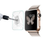 Protector de pantalla de cristal templado para 42mm Apple Watch - Transparente