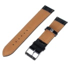 20mm Replacement Durable Adjustable PU Pin Buckle Watch Band Strap