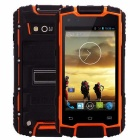 DG1 Quad-Core Android 4.2 3G Phone w/ 1GB RAM, 8GB ROM - Orange