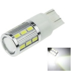 7443 / 7440 7W 700lm 6000K 18-5630 + 1-LED White Car Steering Bulb Turn Signal Light (DC 12V)