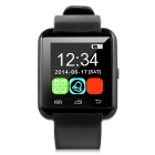 "1.5"" Bluetooth V4.1 Wrist Smart Watch w/ Pedometer, SMS, Anti-Lost for IOS / Android Phones - Black"
