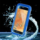 Meters Waterproof ABS Protective Case for Samsung S6 - Blue