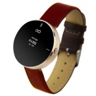 "IDO ONE 0.66"" OLED Bluetooth V4.0 Smart Watch w/ Pedometer Hands-free for iOS / Android - Gold"