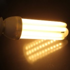 E27 24W 4U-Shaped LED Corn Lamp Warm White 3000K 2800lm 96-SMD - White