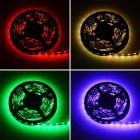HML 72W 300-SMD RGB LED Light Strip w/ 9-Key Remote Controller (5m)