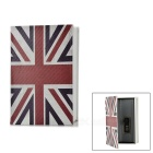 UK Flag Pattern Money / Jewelry / Diary Storage Code Coin Bank Box - White + Multicolor (S)