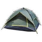 Outdoor Camping Instant Automatic Double Layer Tent for 3 Person - Army Green
