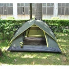 Camping Instant Automatic Double Layer Tent for 3 Person - Army Green