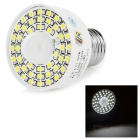 E27 3.5W Smart Human Body Sensing Light White 320lm 45-SMD - White