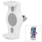 Universal 360' Rotation Car Air Conditioning Outlet Mount Holder for Cellphone / GPS - White