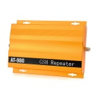 AT-980 2G / 3G / 4G Cell Phone Signal Repeater Amplifier Booster - Golden