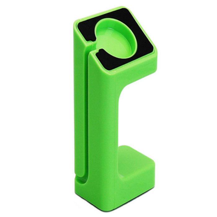 Special Designed Stand Holder for APPLE WATCH - Black + Green