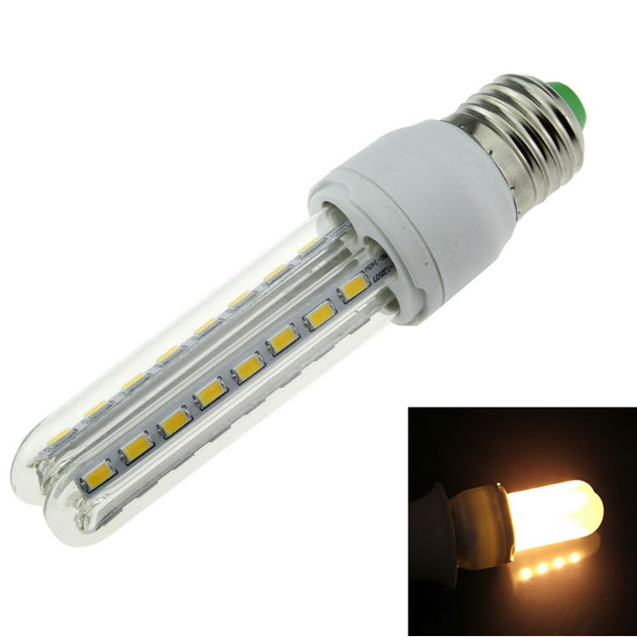 E27 8W LED Corn Lamp Warm White 600lm 3000K 32-5630 SMD (AC 100~265V)