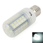WaLangTing E27 7W LED Corn Lamp Bulb Cool White Light 7000K 500lm 72-SMD 5730 (110~240V)
