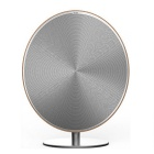 Retro Wireless Bluetooth Speaker w/ NFC - Light Brown + Silver