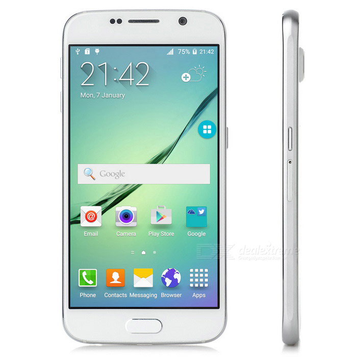 NO.1 S6i Quad-core Android 5.0 Phone w/ 1GB RAM, 16GB ROM - White