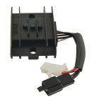 CARKING GN-125 Universal Motorcycle 12V Voltage Regulator Rectifier - Black + White