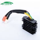 Carking Universal Motorcycle 12V Voltage Regulator Rectifier - Black + White + Multicolored
