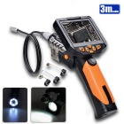"Teslong NTS200 3.5"" LCD Inspection Camera 1W LED 8.2mm Borescope Endoscope - Black + Yellow (3m)"