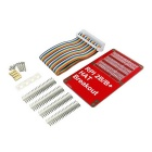 HAT GPIO Expansion Board + 40-Pin Cable Kit for Raspberry Pi 2 Model B / B+ / A+ - Red