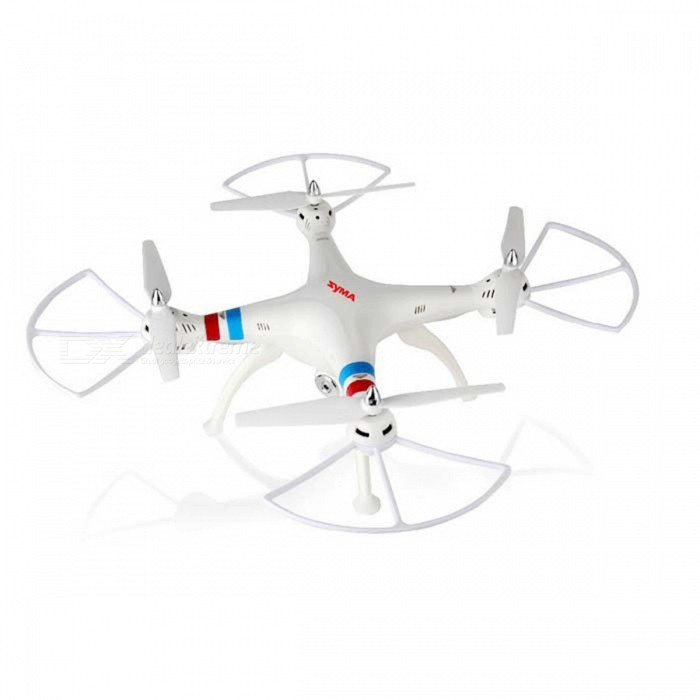 Syma X8C 4-CH 6-Axis Venture with 2MP Camera R/C Helicopter - White(SKU 388978)