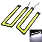 Marsing 10W COB LED U-Shaped Car Daytime Running Lamps White Light 6000K 900lm (10~16V / 2 PCS)