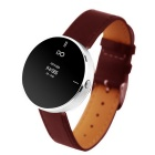 "IDO ONE 0.66"" OLED Bluetooth v4.0 Smart Watch w/ Pedometer for iOS / Android Devices - Red + Silver"