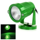 3W COB LED Lawn / Yard Spotlight Green Light 110lm 530nm - Grass Green (AC 85~265V)