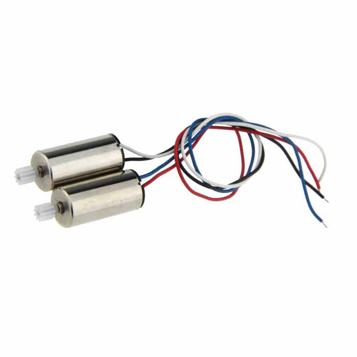 Replacement Quadcopter Parts Motors Set for Syma X5SC / X5SCW - Silver