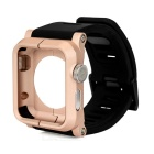 Anti-Drop Anti-Dust Case w/ Silicone Watchband for 42mm APPLE WATCH