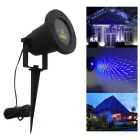 200mW Static Starry Pattern Outdoor Christmas / Garden Decorative Red Blue Laser Light w/ Remote