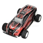 WLtoys P939 1:28 Scale 4-CH Electric R/C Four-Wheel Drive High-Speed Car Model Toy - Black + Red