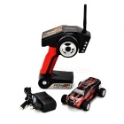 WLtoys P939 1:28 Scale 4-CH Electric R/C Car Model Toy - Black + Red