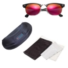 Reedoon Small Frame UV400 Polarized Sunglasses - Black + Orange