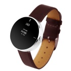 "IDO ONE 0.66"" OLED Bluetooth V4.0 Smart Watch w/ Pedometer / Hands-free for iOS / Android - Brown"