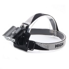 ZHISHUNJIA 360LR-2 2000lm 4-Mode White Bike Light / Headlamp - Black