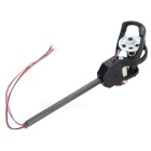 Replacement R/C Aircraft Parts Carbon Fiber CW Motor for Udi U818A - Black + Multicolored