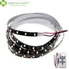 150cm 7.5W 90 x 3528 SMD LED Cool White 6000K LED Strip Light + 11-Key RF Controller (15M DC 12V)