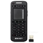 2.4GHz RF Wireless Keyboard Air Mouse w/ Touch Pad - Black (2 x AAA)