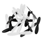 Replacement Quadcopter Blades Propellers for Hubsan X4 - Black + White