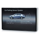 4-Sensor Car Parking Reverse Radar Distance Detection System