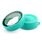 PANNOVO 30mm Camera Lens Protector Cap Cover + UV Filter Set for XIAOMI XIAOYI Camera - Green